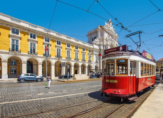 На трамвае по Лиссабону